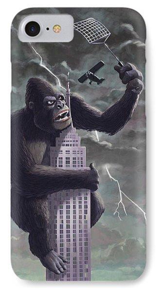 King Kong Plane Swatter IPhone Case