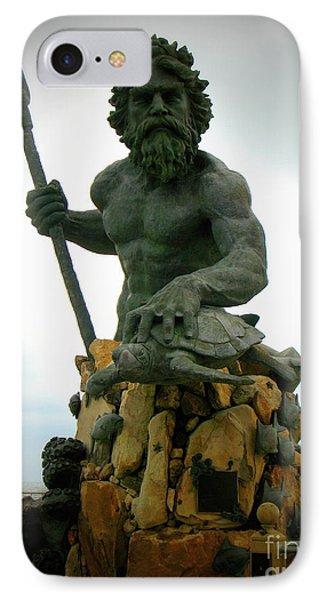 King Neptune Statue IPhone Case