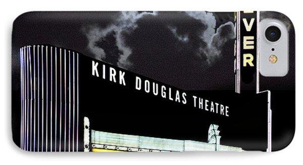 Kirk Douglas Theatre IPhone Case