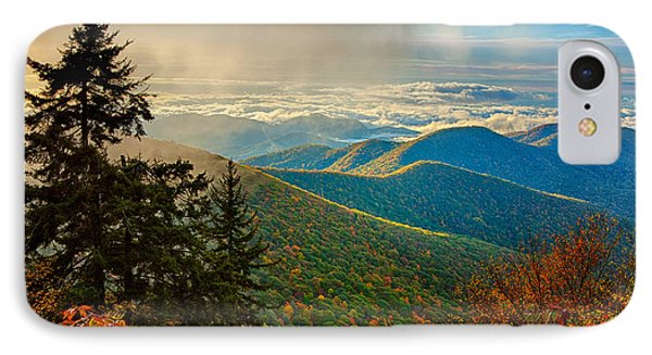 Kiss Of Sunshine - Blue Ridge Mountains I IPhone Case