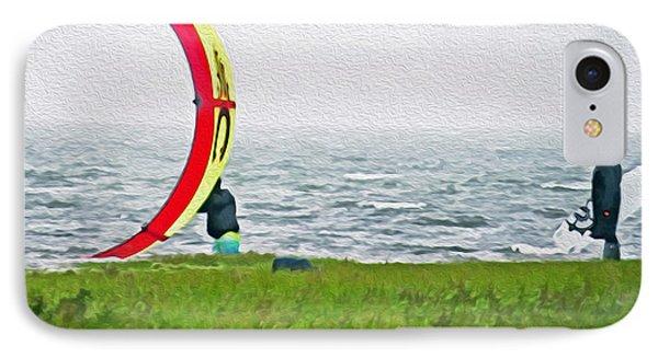 Kite Boarder IPhone Case
