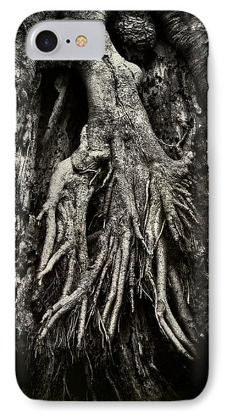 Kneeling At The Feet Of The Green Man IPhone Case