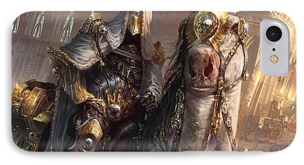 Wizard iPhone 8 Case - Knight Of Obligation by Ryan Barger
