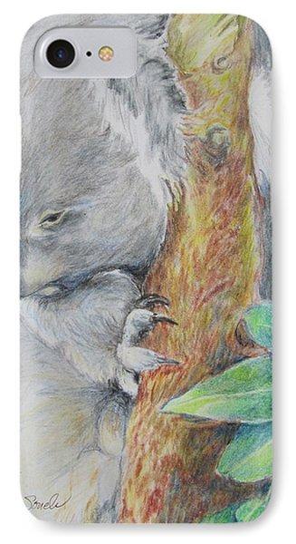 Koala Nap Time IPhone Case