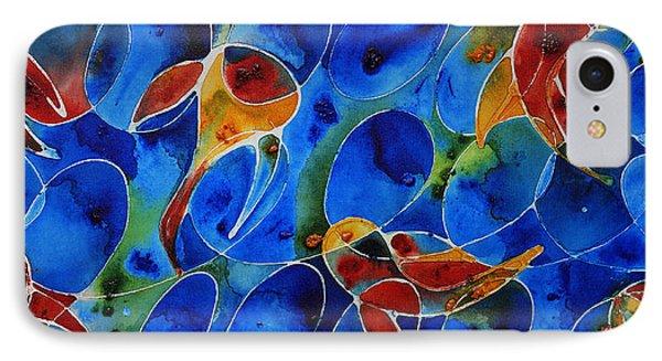 Koi Pond 2 - Liquid Fish Love Art IPhone Case