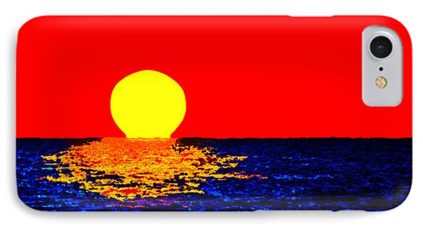 Kona Sunset Pop Art IPhone Case