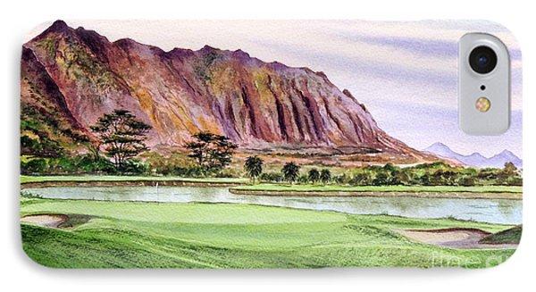 Koolau Golf Course Hawaii 16th Hole IPhone Case