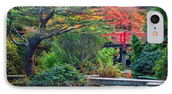 Kubota Gardens In Autumn IPhone Case