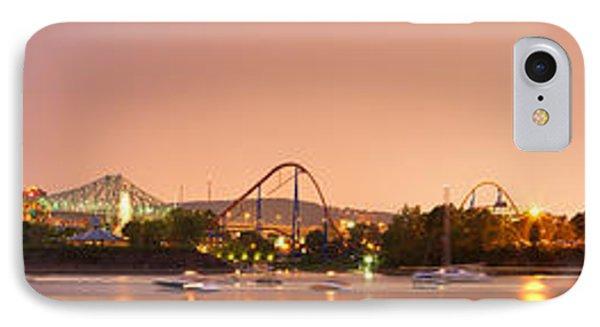 La Ronde Amusement Park Ste-helene Island Montreal IPhone Case