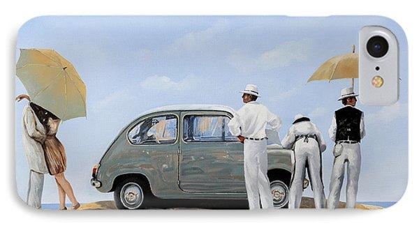 Transportation iPhone 8 Case - La Seicento by Guido Borelli