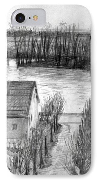 La Seine At Herblay IPhone Case