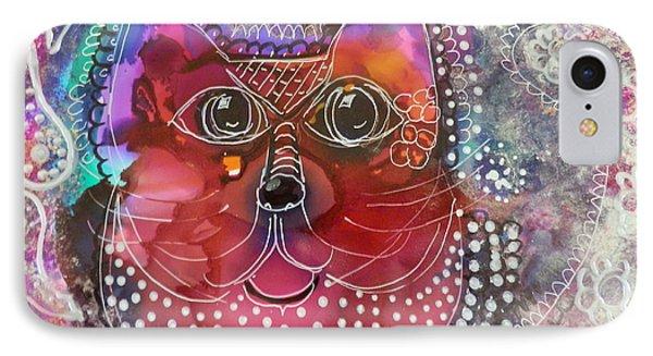 Lacey Cat IPhone Case