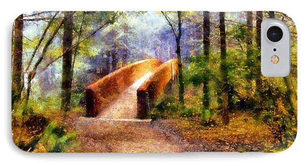 Lady Bird Johnson Grove Bridge IPhone Case