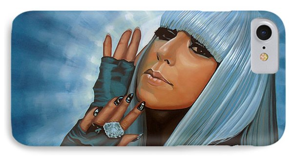Lady Gaga Painting IPhone Case