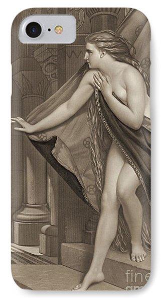 Lady Godiva 1873 IPhone Case