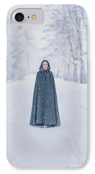 Lady Of The Winter Forest IPhone Case