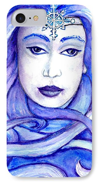 Lady Of The Winter Solstice IPhone Case