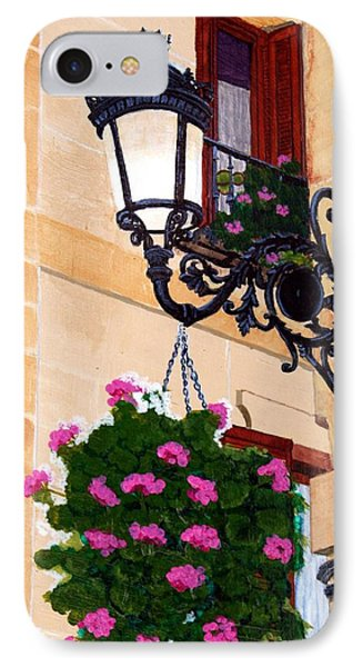 Laguardia Street Lamp  IPhone Case