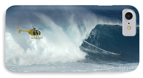 Laird Hamilton Going Left At Jaws IPhone Case