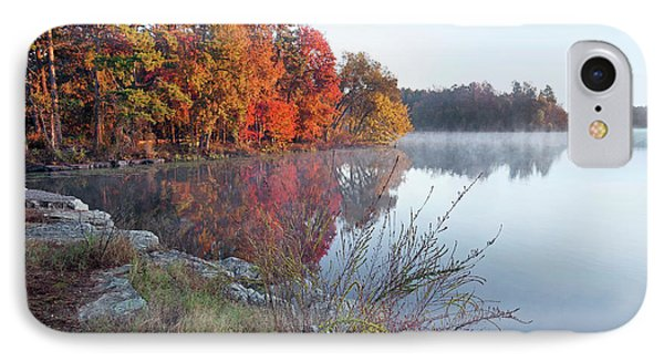 Lake Bailey At Sunrise, Petit Jean IPhone Case
