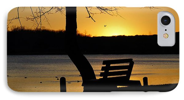 Lake Carlos State Park Sunset IPhone Case