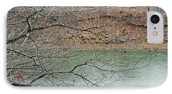 Lake Dunn In Winter IPhone Case