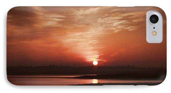 Lake Folsom California Sunset IPhone Case