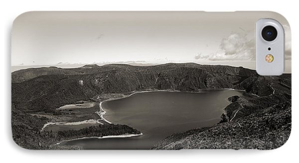 Lake In A Crater IPhone Case