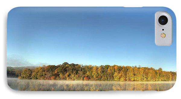 Lake Logan Fall Panorama IPhone Case