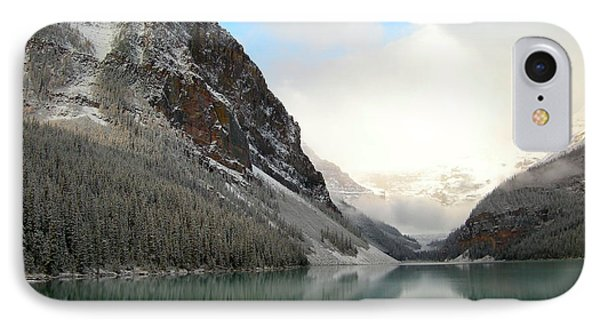 Lake Louise After The Dusting Of Snow IPhone Case