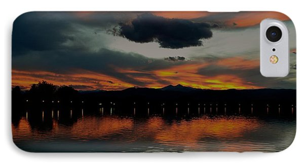 Lake Loveland City Reflects IPhone Case