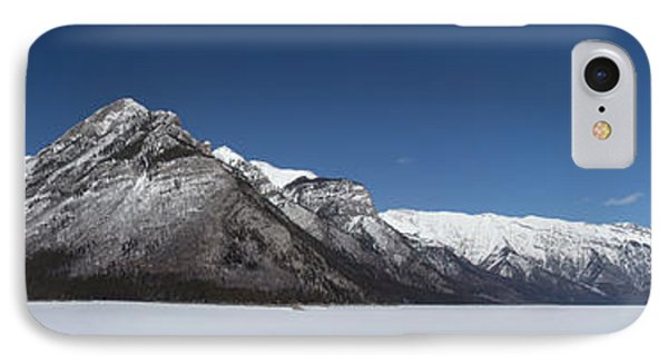 Lake Minnewanka Panorama IPhone Case