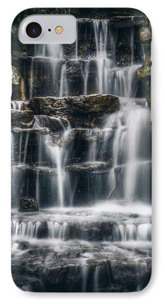 Lake Park Waterfall 2 IPhone Case
