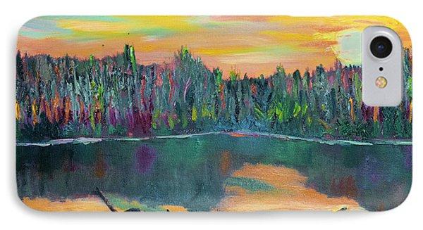 Lake Schwartzwood Sunset IPhone Case