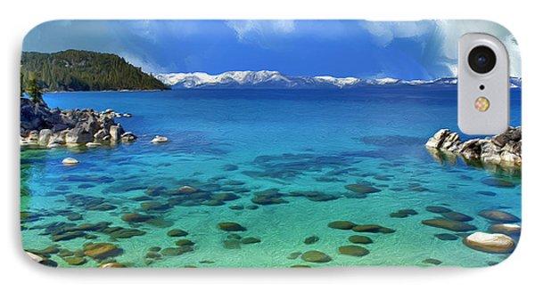 Lake Tahoe Cove IPhone Case