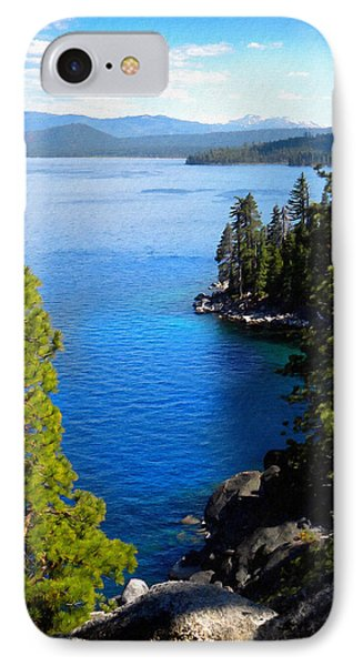 Lake Tahoe From The Rubicon Trail IPhone Case