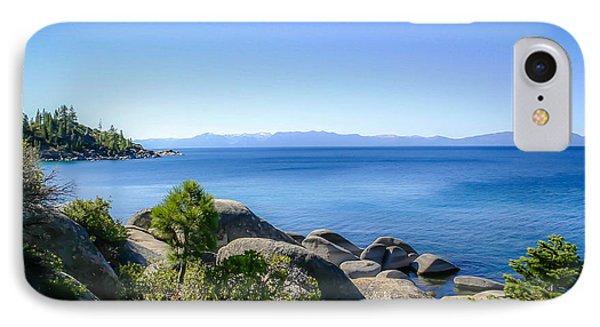 Lake Tahoe Shore IPhone Case