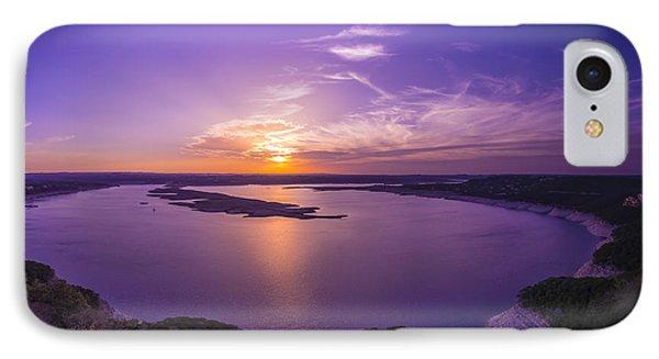 Lake Travis Sunset IPhone Case