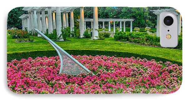 Lakeside Park Floral Gardens IPhone Case