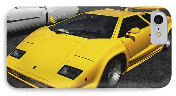 Lamborghini Countach IPhone Case