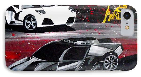 Lamborghini Leverage IPhone Case