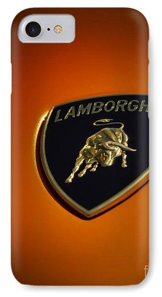 Lamborghini Murcielago Badge Emblem IPhone Case