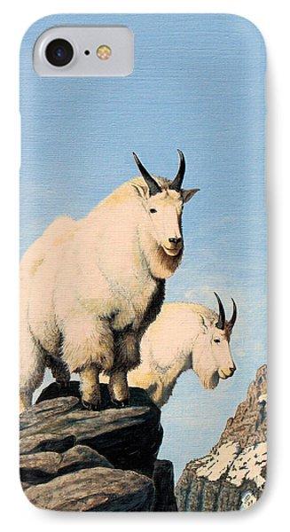 Lamoille Goats IPhone Case