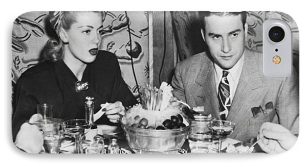 Lana Turner And Artie Shaw IPhone Case