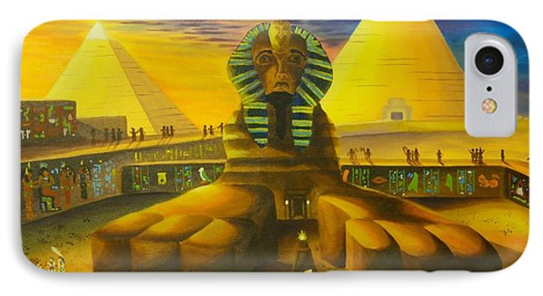 Land Of Pharaohs IPhone Case