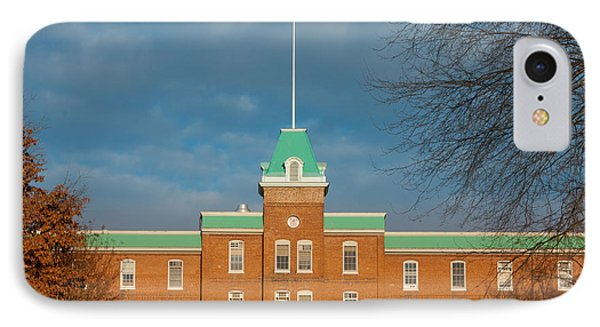 Lane Hall At Virginia Tech IPhone Case