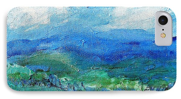Lane To The Wicklow Hills IPhone Case