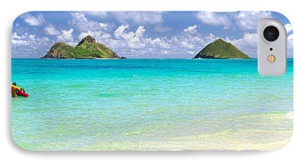 Lanikai Beach Paradise 3 To 1 Aspect Ratio IPhone Case