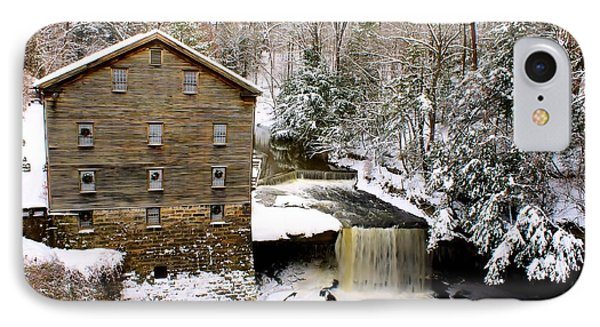Lanterman's Mill In Winter IPhone Case