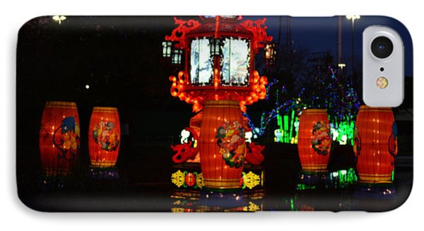 Lanterns In The Pond IPhone Case